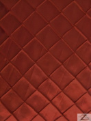 chequered TAFFETA FABRIC - Burgundy - 150cm WIDTH SOLD BTY PINTUCK