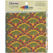Fabric Palette Charm Pack 13cm x 13cm Cuts 20/Pkg-Down Home Traditions