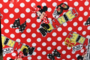Minnie Fleece Fabric 150cm Width By the Yard