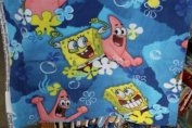 Spongebob Fleece Fabric 150cm Width By the Yard
