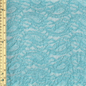 BLUE SPA Pasley Chenille Lace Fabric-MASALA