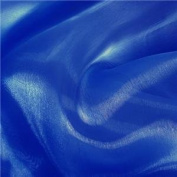 Royal Blue Mirror Organza Fabric 150cm /150cm x 10yd