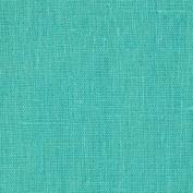 European Linen Fabric Turquoise