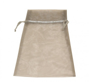 Premier Packaging 10 Count Organza Bags, 17cm by 38cm