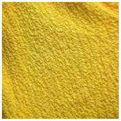 2.4cm Wide Puff Puff (Yellow) by the Yard