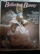 Daisy Kingdom Ballerina Bunny Fabric & Instructions #9825