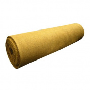 120cm WIDE X 2YD LONG GOLD BURLAP