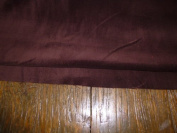 Brown Coloured Light Weight Dressmaking Cotton Velvet / Velveteen - 110cm - 210ml/yd²