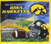 College Panel University of Iowa Hawkeyes Kinnick Stadium Fleece Fabric Panel