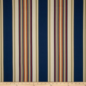 Duralee Home Claires Stripe II Twill Multi Fabric
