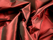 150cm wide Plain Shot Taffeta Dress Fabric Wine - per 2 metres