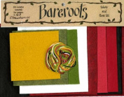 Bareroots Fabric & Floss Kit for Little Stitchies Strawberries Candle Mat