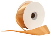Offray Single Face Satin Craft 1cm by 100-Yard Ribbon Spool, Russet