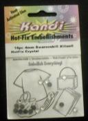 . Xlllon Hotfix Crystal 4mm 16pc