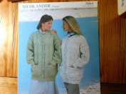 Sirdar Leaflet 5064 Ladies Jacket Design