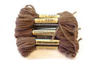 Paternayan Needlepoint 3-ply Wool Yarn-Colour-423-Coffee Brown