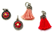 Laliberi Bezel and Yarn Jewellery Accessories, Warm Dangles and Charms