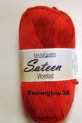 Sateen Worsted Yarn #36 Emberglow by Cascade Yarns