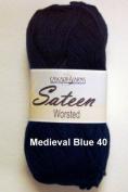Sateen Worsted Yarn #40 Mediaeval Blue by Cascade Yarns