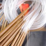 Nicedeco - Hanging tool,Hanger,18 Sizes Bamboo 2.0mm-10.0mm 80cm Circular Knitting Needles