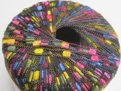 Knitting Fever Dazzle #78 Pink Purple Orange Black