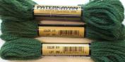Paternayan Needlepoint 3-ply Wool Yarn-Colour-611-Hunter Green Medium