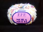 Filati Moira Multi #201 Yarn White Yellow Pink Blue