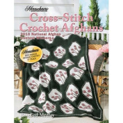 Herrschners 2010 Cross-Stitch Crochet Afghans Book, 4 patterns