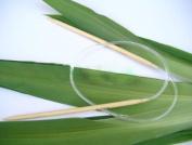 Ostart 18 Sizes 40'' (100cm) Circular Bamboo Knitting Needles Set Kit