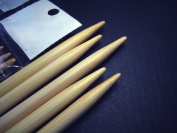 11 Sizes 13cm Double Pointed (BR brand) Bamboo Knitting Needles