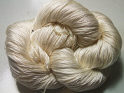100% Pure Reeled Mulberry Silk Filature Yarn 50 gramme Pearl Lot A