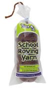 Trait-tex 3-Ply School Roving Yarn Skein, Dark Brown, 150 Yards