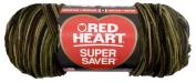 Red Heart E302B.0971 Super Saver Jumbo Yarn, Camouflage