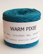 Luxury 100% Soft Scottish Lambswool - Turquoise - For Hand & Machine Knitting, Crochet and Crafting.