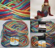 50g50ml Sportsragg Double Knitting Yarn By Viking Garn #582 - Party