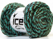 Ice Yarn 26271 Swirl Acryl Mint Green Brown