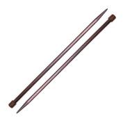 Pony Rosewood Knitting Needle 25cm Straight Size 13