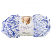 Premier Yarn Deborah Norville Collection 3-Pack Serenity Chunky Sprinkles Yarn, Baby Blues