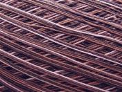 Free Ship Variegated Brown #10 Crochet Cotton Thread Yarn Knitting. 100% Mercerized