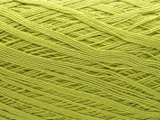 Free Ship Lime Green Size 10 Crochet Cotton Thread Yarn Knitting. 100% Mercerized