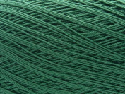 Free Ship Dark Green Size 10 Crochet Cotton Thread Yarn Knitting. 100% Mercerized