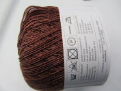 Katia Syros Crochet & Tatting Yarn Thread Col 82 Brown 1 Sk