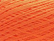 Free Ship Burnt Orange Size 10 Crochet Cotton Thread Yarn Knitting. 100% Mercerized