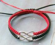 Couples Bracelet,infinity Love and Wish Bracelets, Boyfriend Girlfriend Gift, Hand Weaving Bracelets