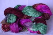150ml/140g Mohair-Wool Dancing Handmade Polar yarn by Manos Artesanas #3192