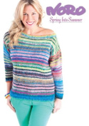 Noro Pattern Book, Spring Into Summer by Woodland & McLeod