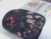 Circulo Tecido Trico Floral Print Fabric Ruffling Scarf Yarn Col#266 1 Sk