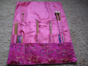 Knitting needle Roll CASE BrilliantKnitting (BR brand) (three layers, only red colour.