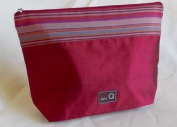 Della Q Small Zip Pouch 1112-1 - Red