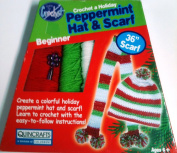Peppermint Hat & Scarf Learn to Crochet